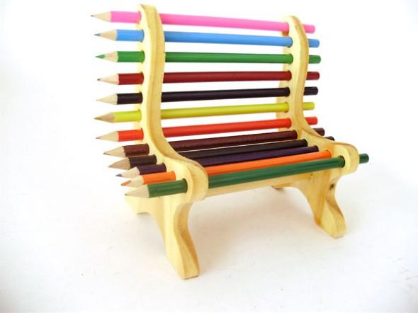 Ideias de artesanato com lápis de cor 005