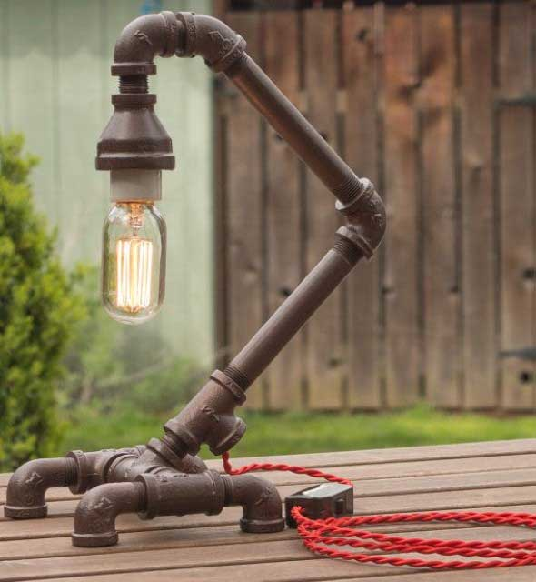 Fabuloso DIY: Luminária de PVC – Veja como fazer LC27