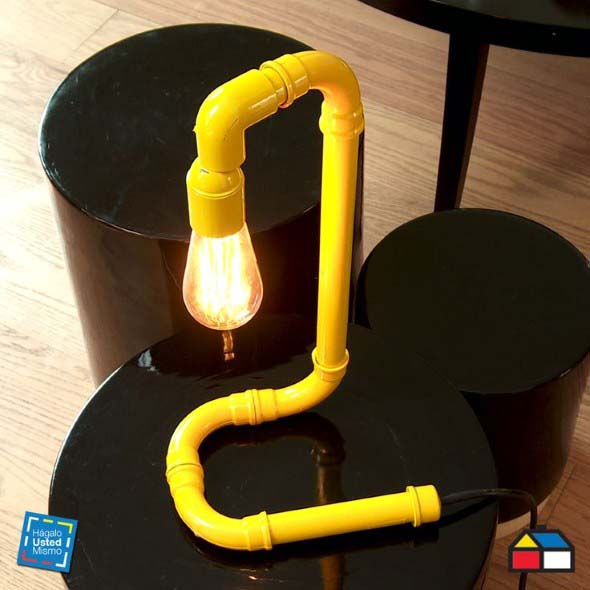Luminária de PVC 007