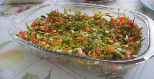 Salada de casca de abóbora 002
