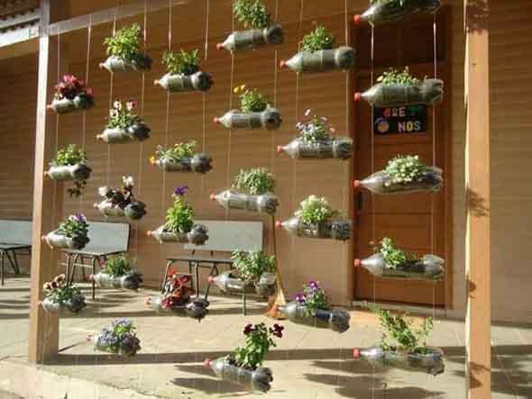15 Ideias de artesanato com recicláveis do dia a dia 013