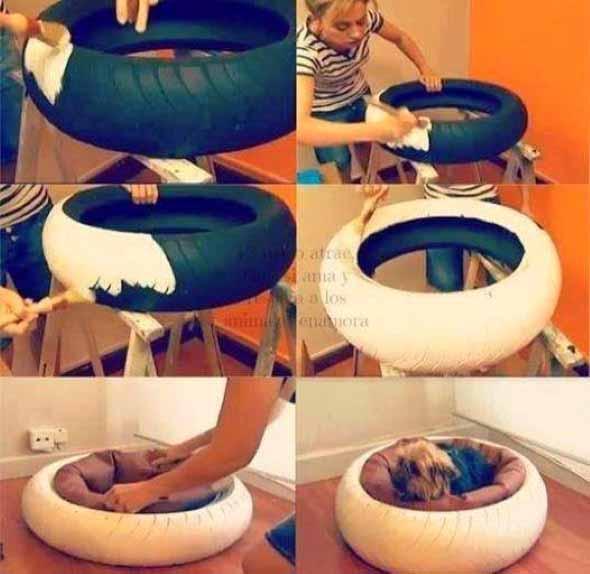 Aprenda a fazer uma cama artesanal para seu cachorrinho 003