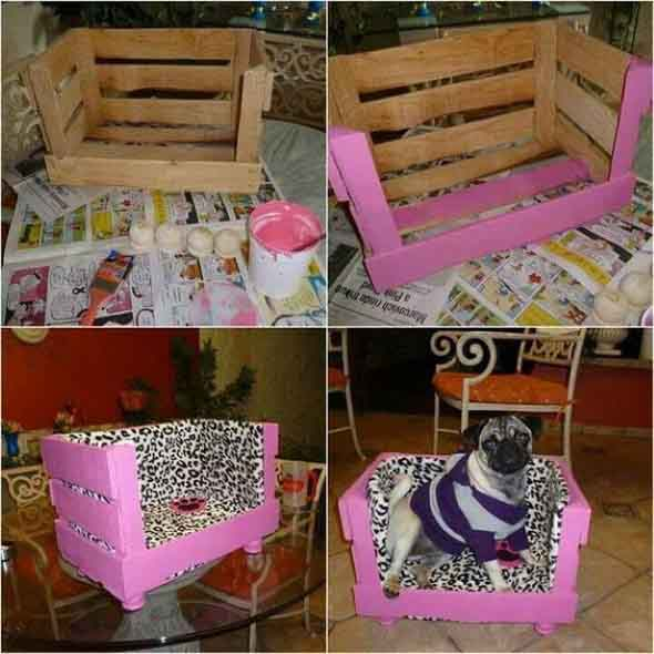 Aprenda a fazer uma cama artesanal para seu cachorrinho 011