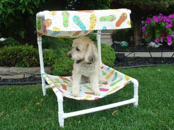 Aprenda a fazer uma cama artesanal para seu cachorrinho 015
