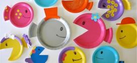 Artesanato com pratos descartáveis – Confira nossas dicas