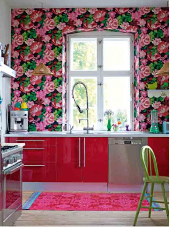 Como forrar paredes com tecido 013