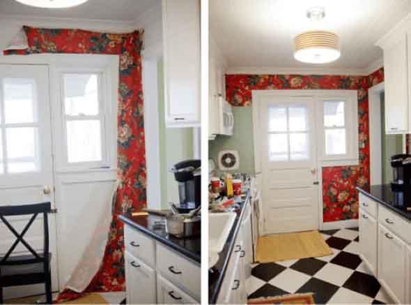 Como forrar paredes com tecido 016