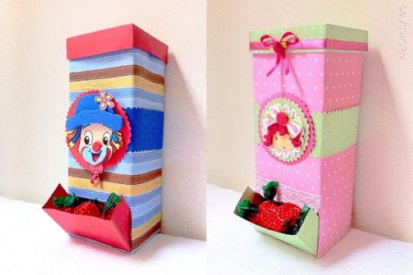 Faça arte com caixas de leite 011