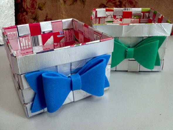 Faça arte com caixas de leite 012