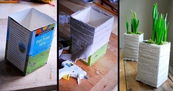 Faça arte com caixas de leite 016