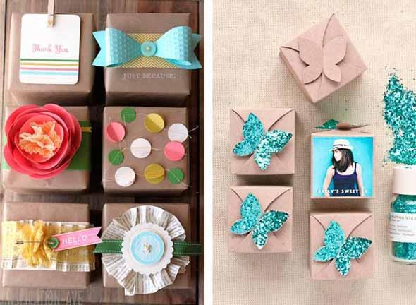 Ideias criativas de artesanato com papel 002