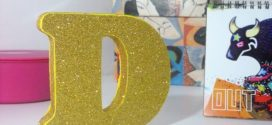 Letras artesanais de MDF – Saiba como pintar e decorar