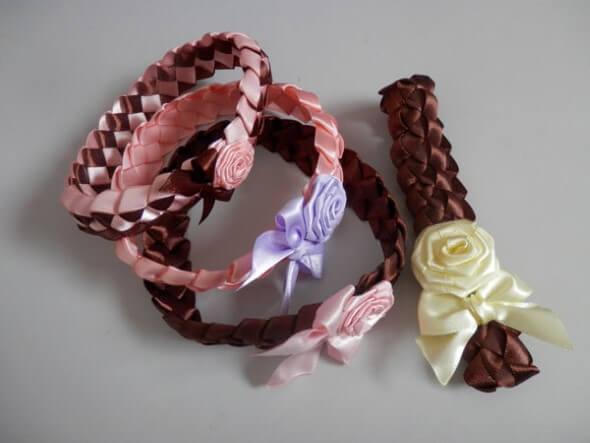 Tiara artesanal para bebês 002