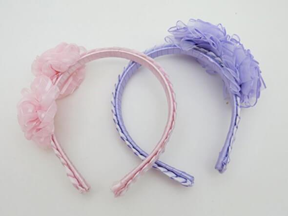 e538fbe93c063 Tiara artesanal para bebês – Veja como fazer em casa