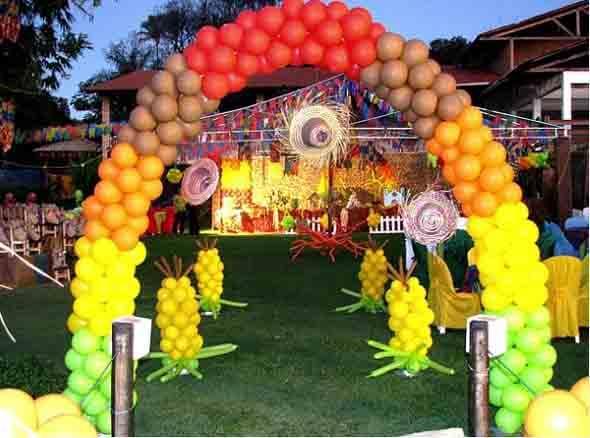 Aprenda a montar a decoração de Festa Junina 013