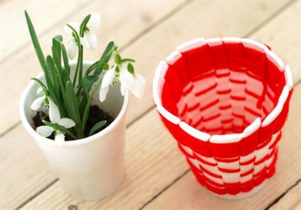 DIY – Como fazer arte com copos descartáveis 003