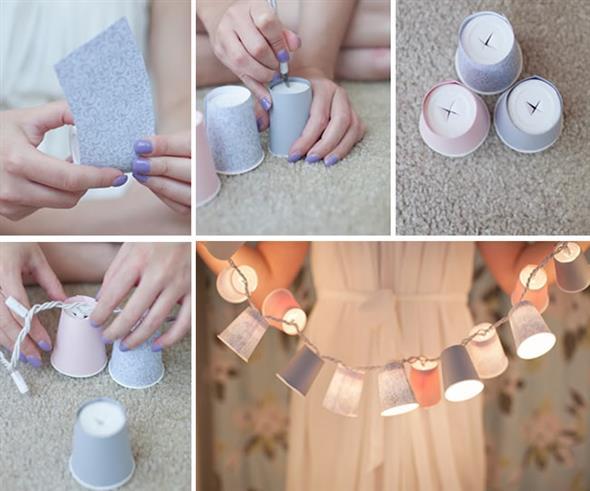 DIY – Como fazer arte com copos descartáveis 015