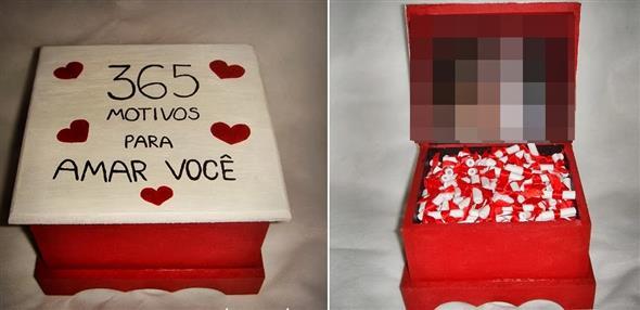 Aparador Jugui ~ Idéias de artesanato e decoraç u00e3o para o Dia dos Namorados