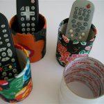 Porta controle remoto artesanal – Aprenda a fazer em casa