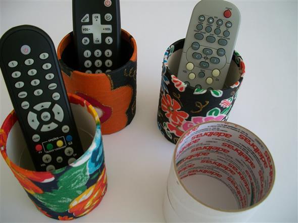 Porta controle remoto artesanal 007