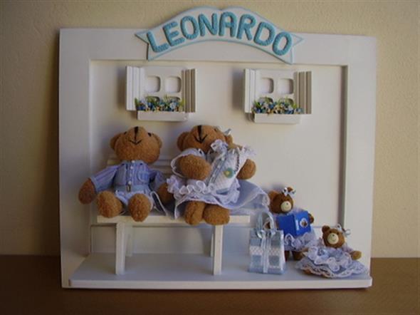 Quadro para decorar o quarto do bebê 004