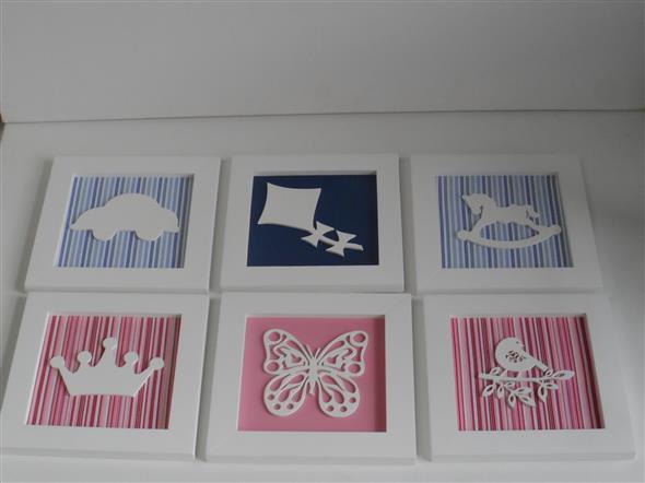 Quadro para decorar o quarto do bebê – Saiba como fazer ~ Trio De Quadros Para Quarto De Bebe