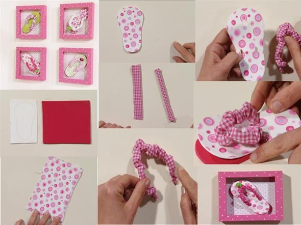 Quadro para decorar o quarto do bebê 008