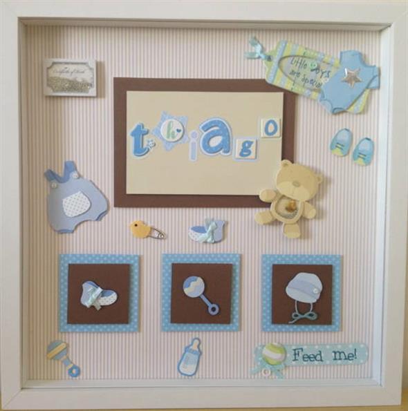 Quadro para decorar o quarto do bebê 009