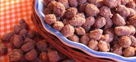Receita de amendoim doce Praliné