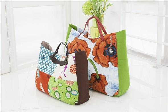 Bolsinha de tecido artesanal 006