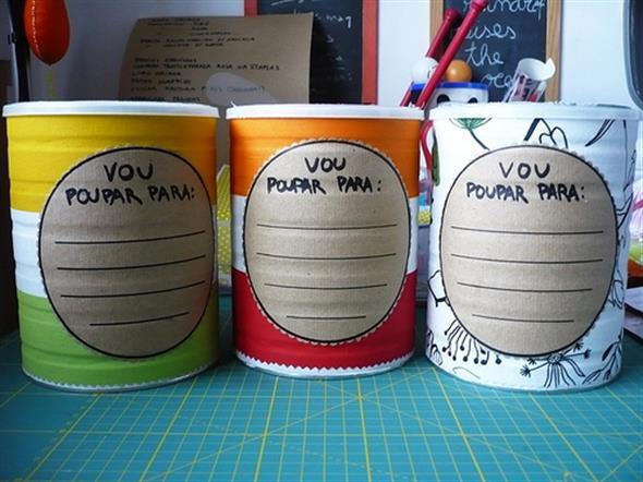 Como fazer arte com latas 010