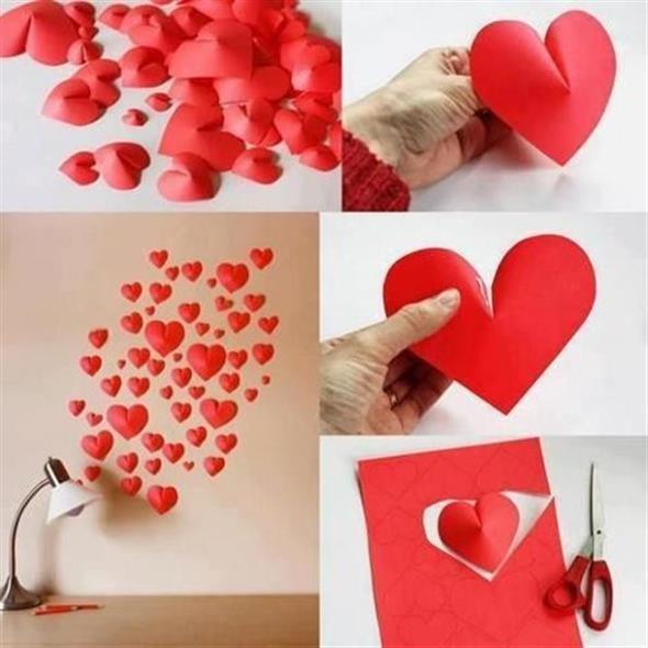 Modelos de corações artesanais 001