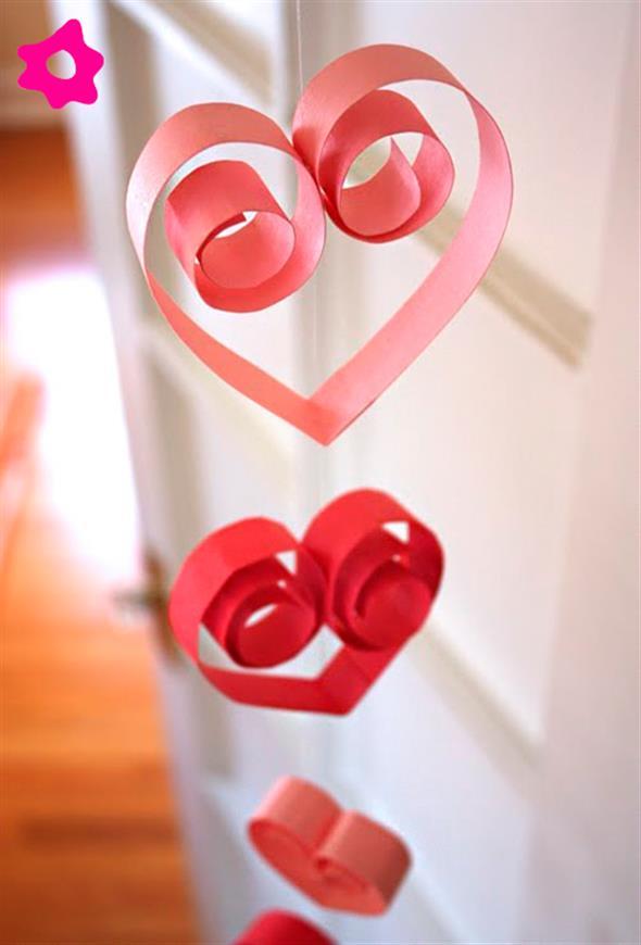 Modelos de corações artesanais 003