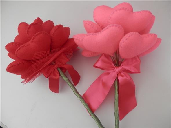 Modelos de corações artesanais 004