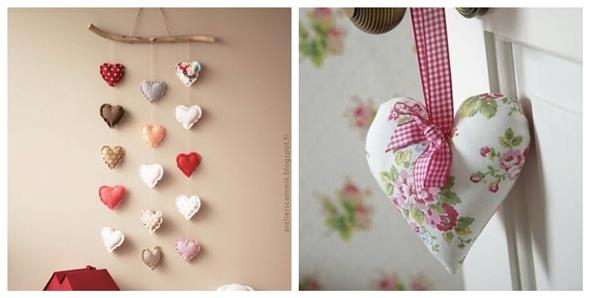 Modelos de corações artesanais 005
