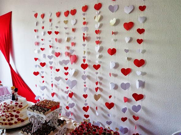 Modelos de corações artesanais 009
