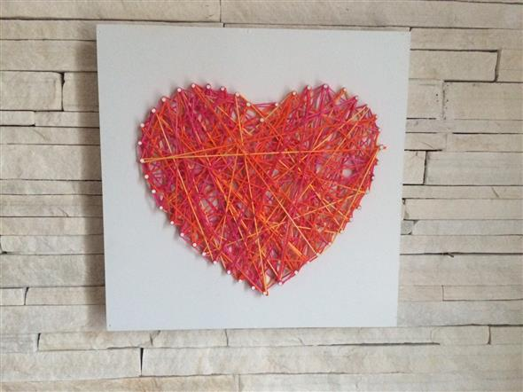 Modelos de corações artesanais 011