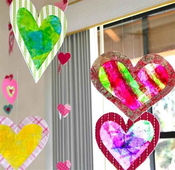 Modelos de corações artesanais 014