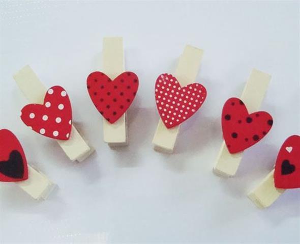 Modelos de corações artesanais 015