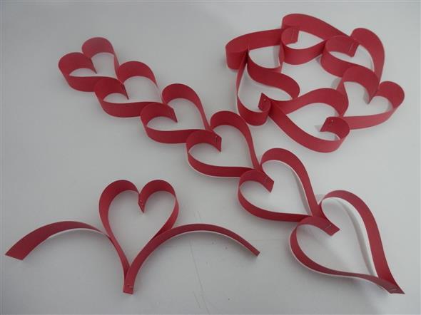 Modelos de corações artesanais 017