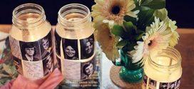 Porta-retrato em pote de vidro – Veja como é fácil de fazer