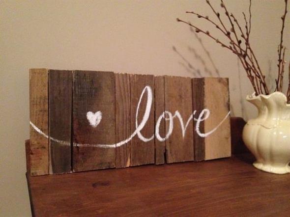 Como fazer uma plaquinha rústica de madeira 013