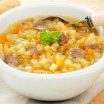 Receita de sopa de legumes com macarrão 001