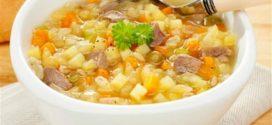 Receita de sopa de legumes com macarrão