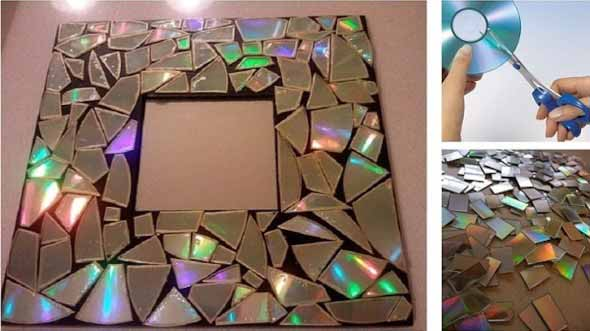 Recicle seus CDs usados com dicas de artesanato 012