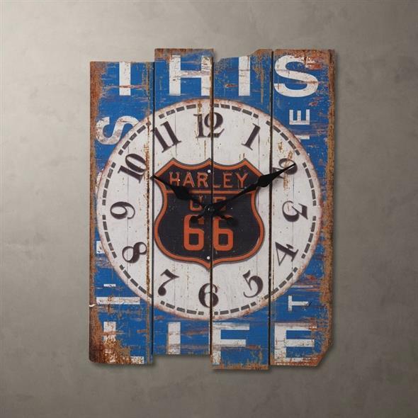 Relógio artesanal criativo 004