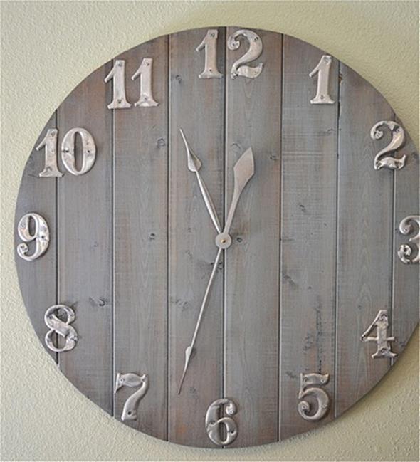 Relógio artesanal criativo 007
