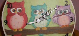Relógio artesanal criativo – Dicas e modelos para fazer em casa