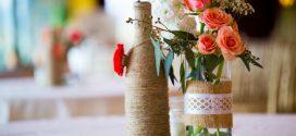 Artesanato com garrafas de vidro em casa – Veja como fazer