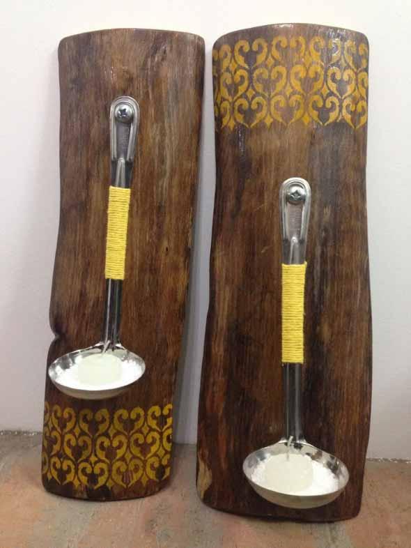 Artesanato Indigena Onde Comprar ~ Artesanato com pedaços de madeira 18 ideias criativas